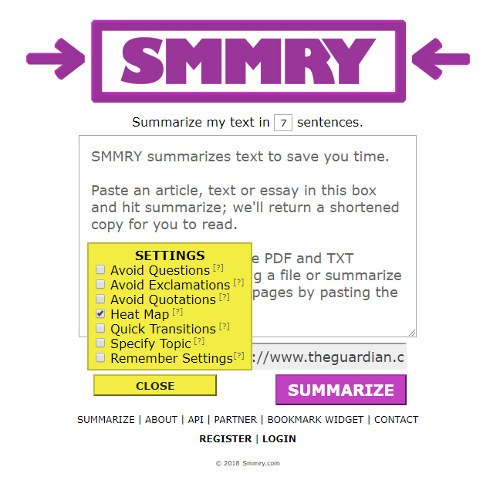 4 of the Best Online Summarizer Tools to Shorten Text | Tips & Tricks | Latest Technology News