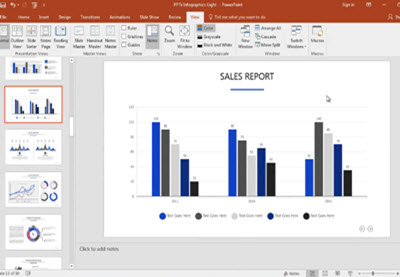 How to Quickly Edit Creative Chart Template Designs in PowerPoint | How To | Latest Technology News