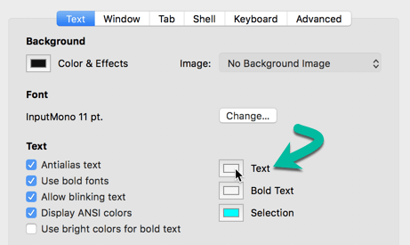 customize-terminal-macos-change-text-color-profile
