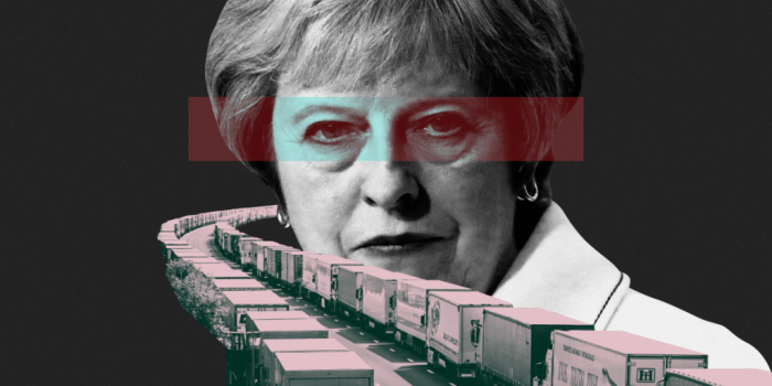 Theresa May is heading towards a no-deal Brexit