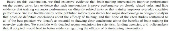 brain-training-evidence
