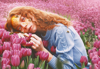 How to Create a Honey Bee Themed Photo Manipulation in Photoshop | How To | Latest Technology News