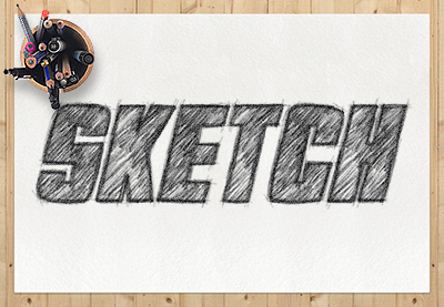How to Create a Sketch Text Effect Action in Adobe Photoshop | How To | Latest Technology News