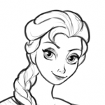 how to draw disney characters