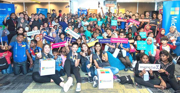 M'sian youth learns tech on the future with Microsoft | Digital Asia | Latest Technology News