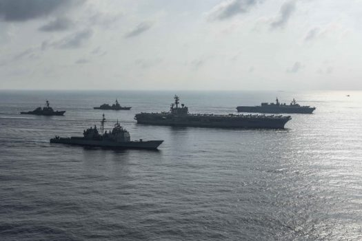 US and Japanese warships are drilling in the South China Sea in a show of force in China's backyard | Digital Asia | Latest Technology News