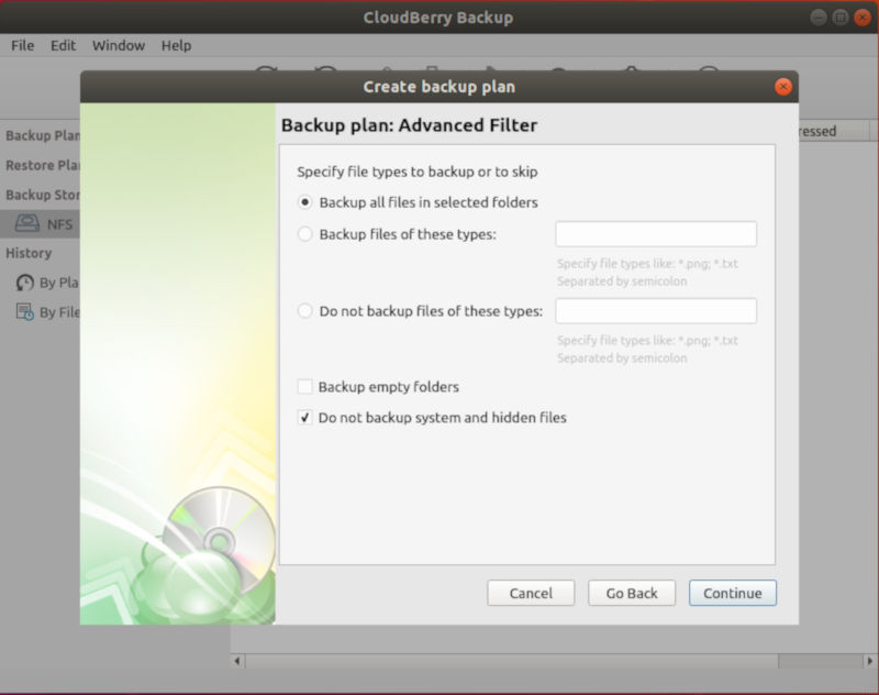 Exclude unwanted Files