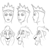 how to draw disney villains