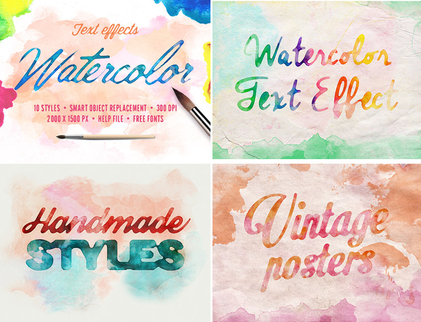 25 Creative Photoshop Text Effects With Vibrant Styles Best