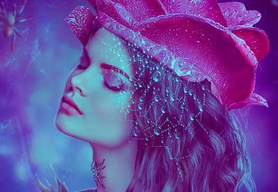 How to Create a Rose and Spider Portrait Photo Manipulation in Photoshop | How To | Latest Technology News