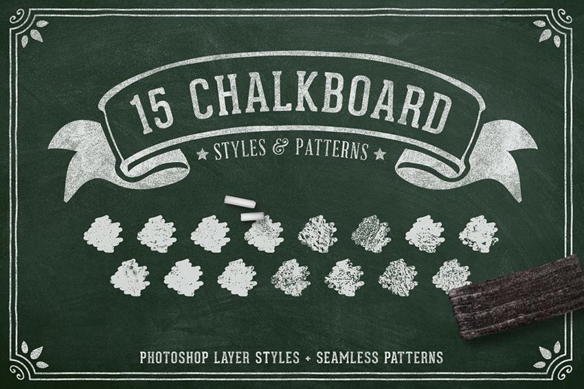 Chalk and Charcoal Photoshop Styles